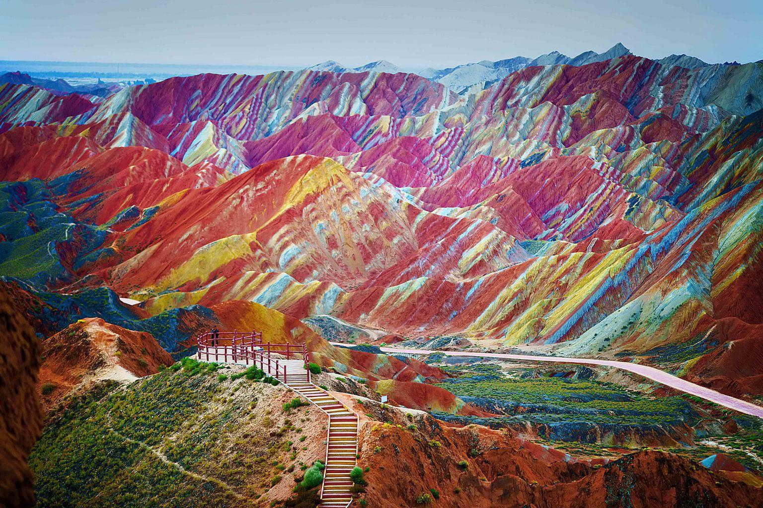 Цветныегоры Чжанъе Данься, Китай