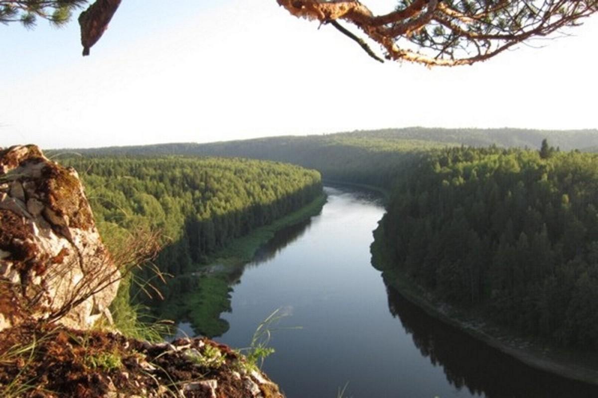 Река Чусовая - красивейшая река Урала (7 фото)