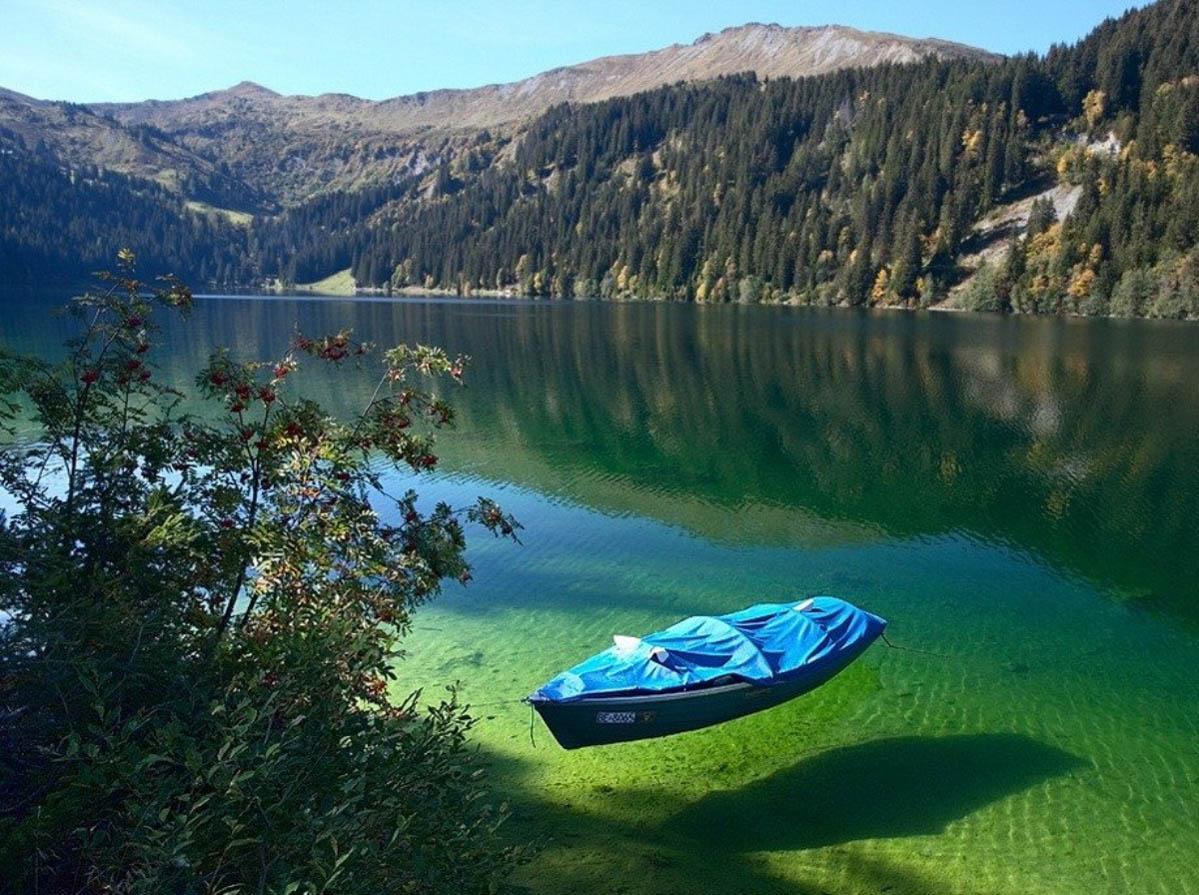 Озеро Кёнигзее - чистейшее озеро Германии