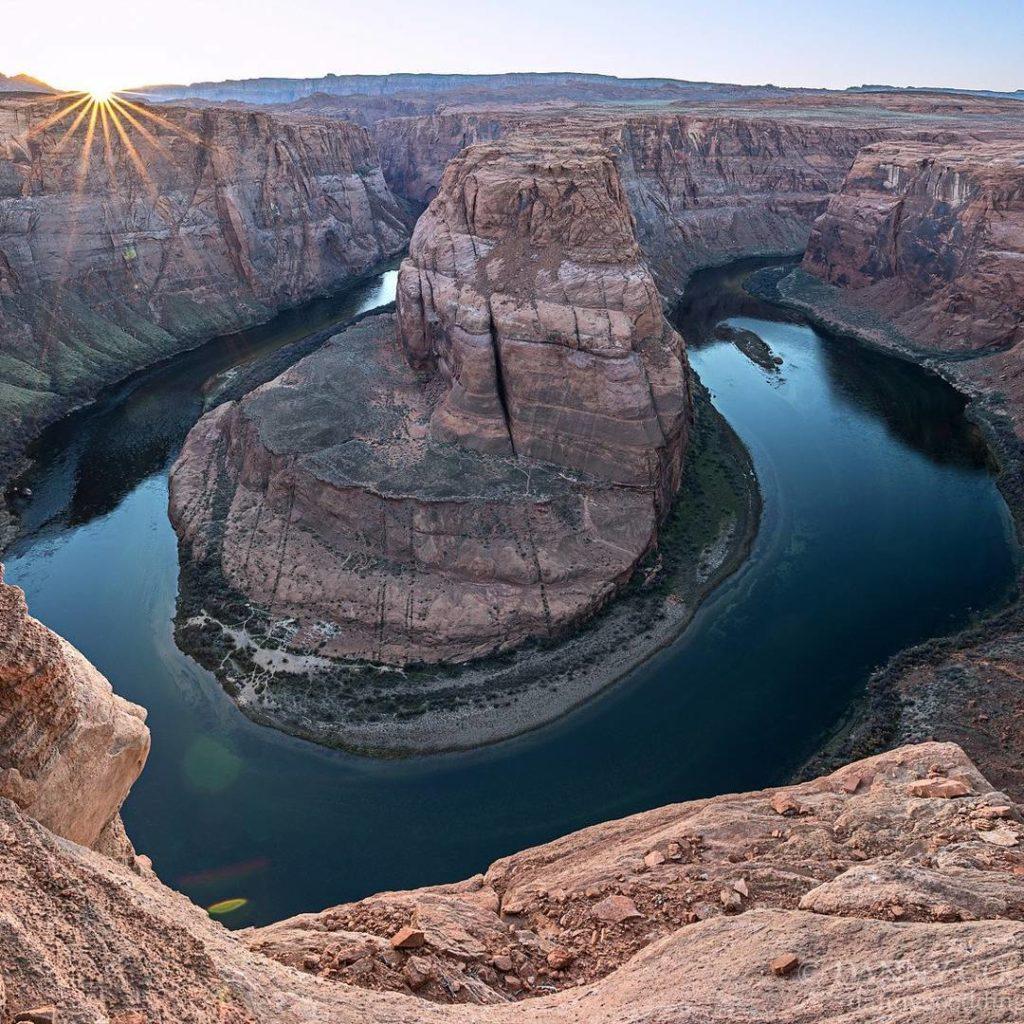 Гранд-Каньон. Река Колорадо, Подкова(США)