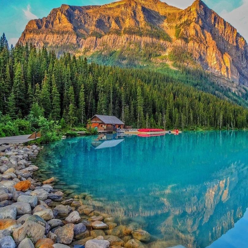 Озеро Луиз (Канада)
