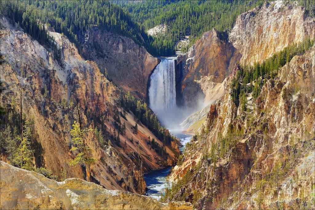 Йеллоустонский национальный парк(США)