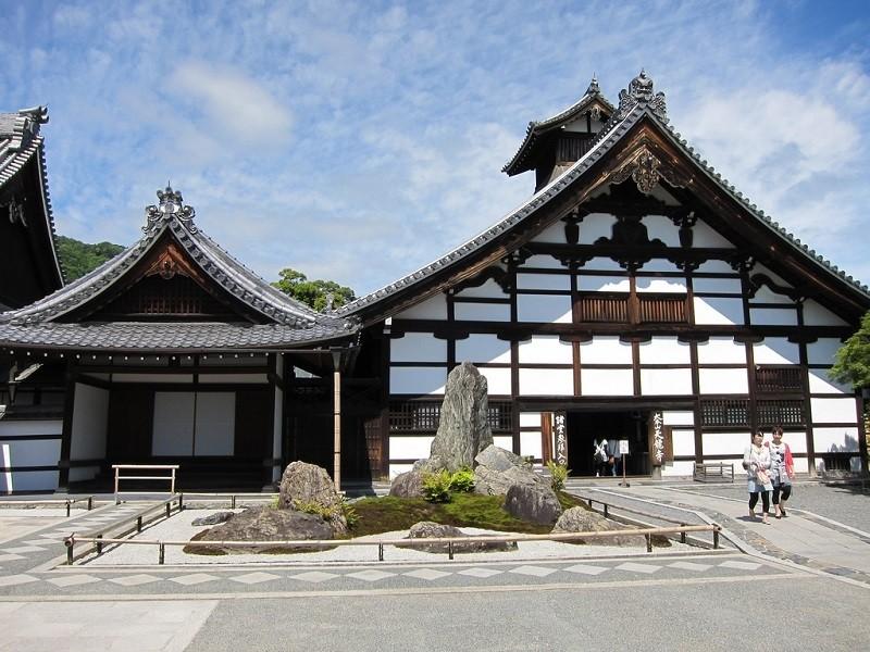 дзен-буддистский храм Тэнрюдзи