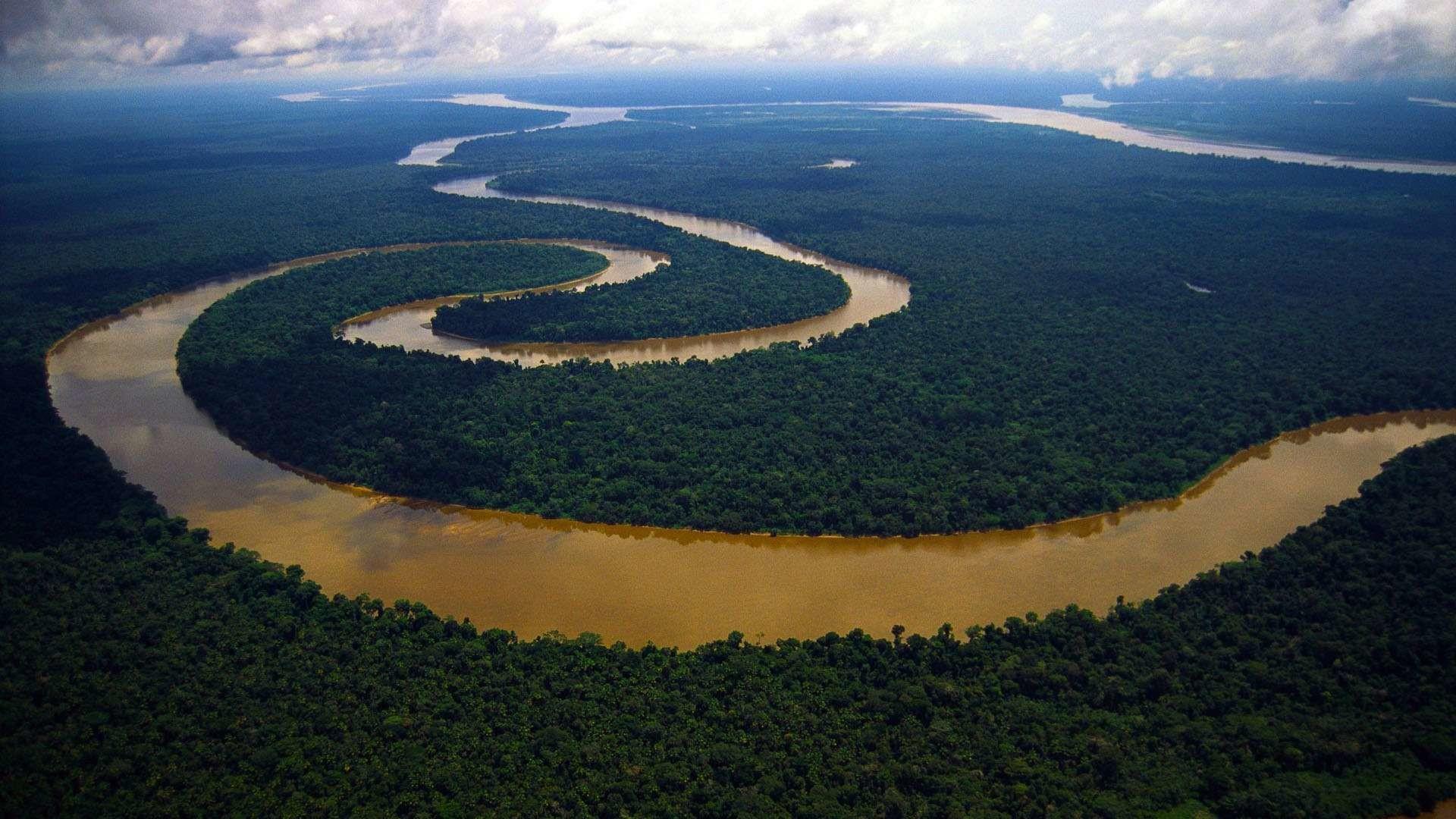 Река Амазонка - самая длинная река в мире