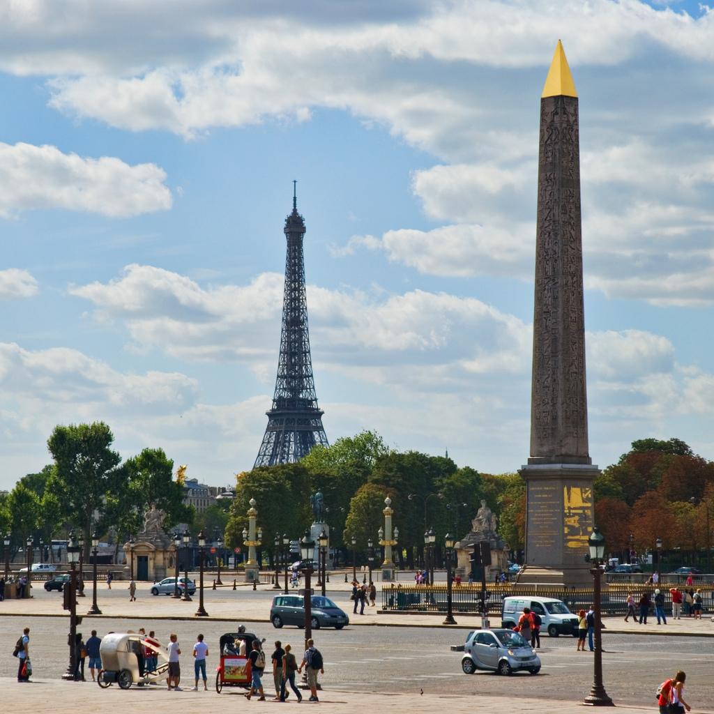 Луксорский обелиск, Париж, Франция