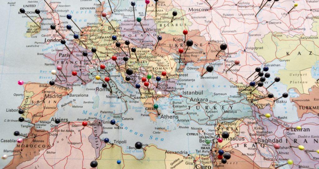 Тест на знание столиц стран мира