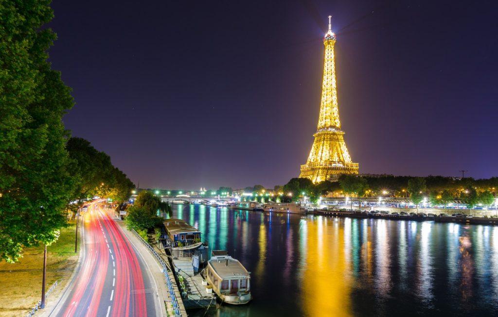 Париж - Город огней.