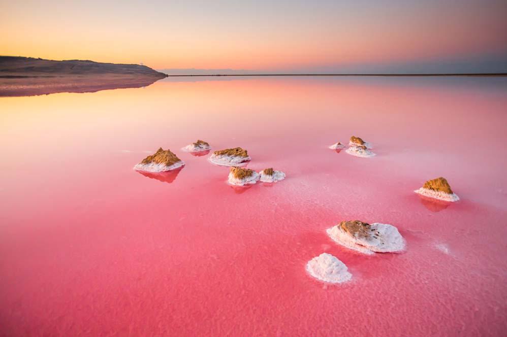 Кояшское озеро, Крым
