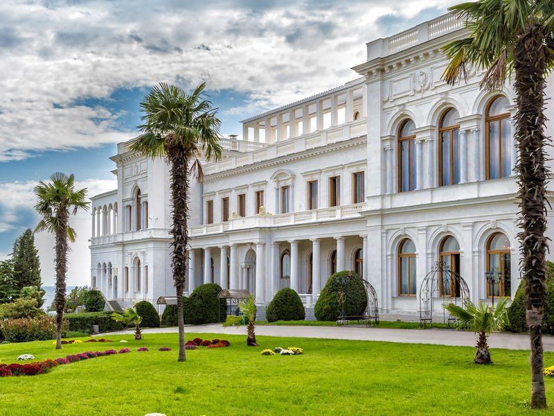 Ливадийский дворец, Ялта, Крым