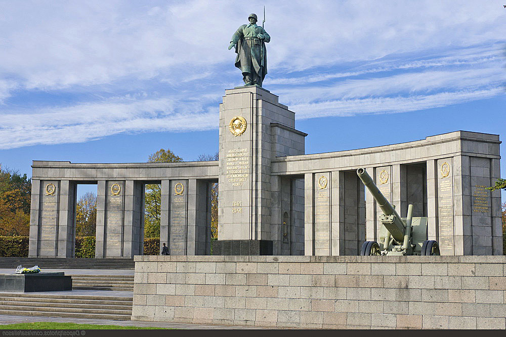 Мемориал павшим советским воинам в Берлине.