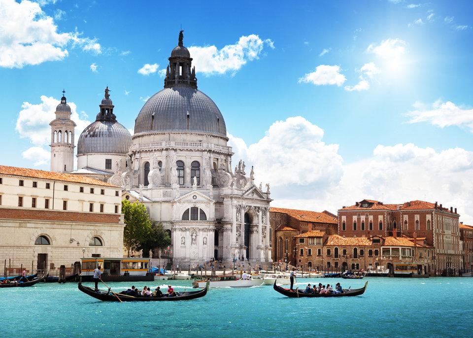 Собор Санта-Мария-делла-Салюте в Венеции