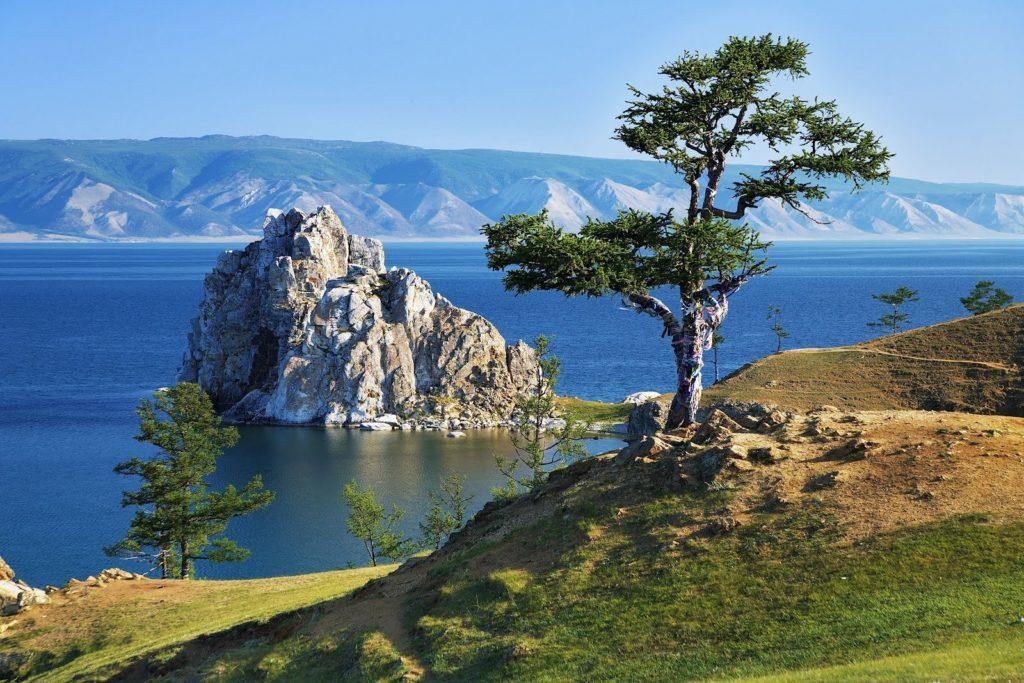 Озеро Байкал, Иркутская область.