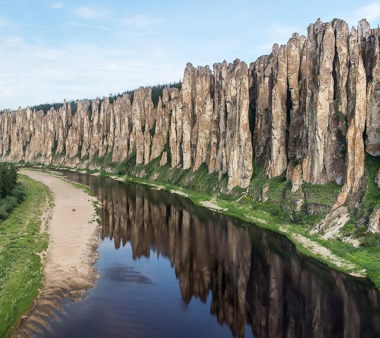 Природный парк Ленские Столбы, Якутия.