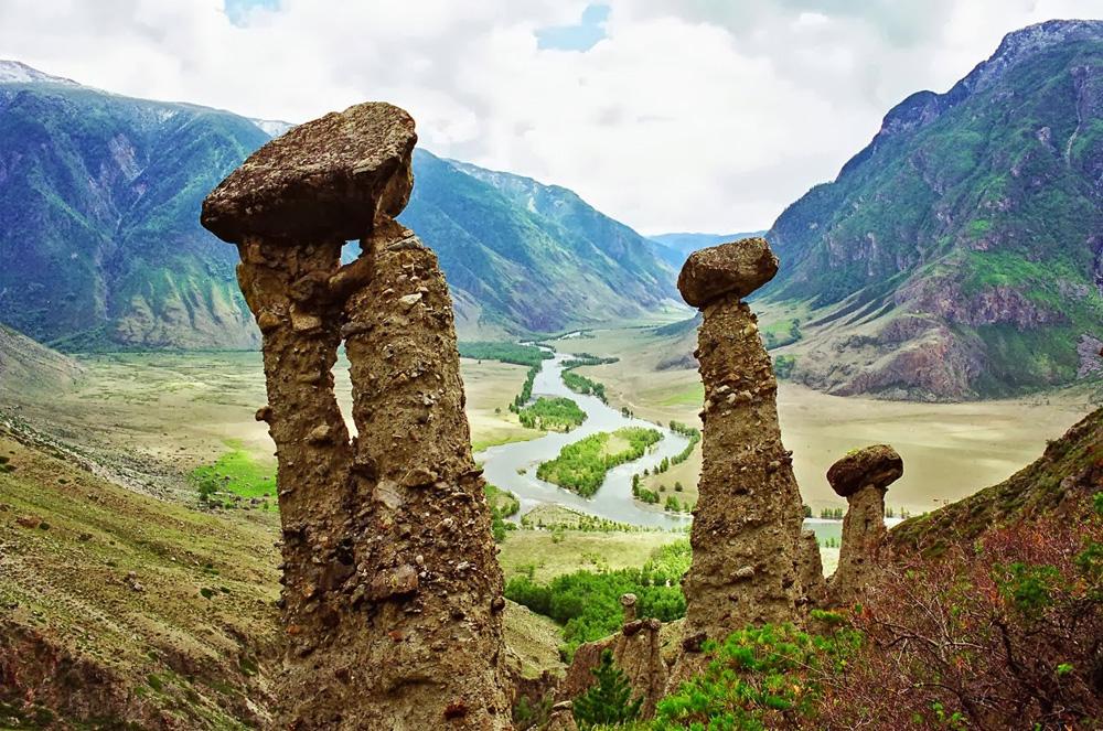 Урочище Аккурум, Алтай