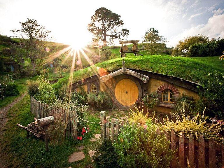 Деревня Хоббитон, Новая Зеландия