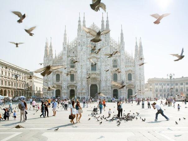 Миланский кафедральный собор Дуомо, Италия