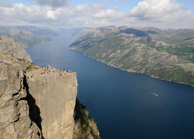 Прекестулен, Норвегия