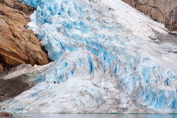 Ледник Бриксдаль, Норвегия