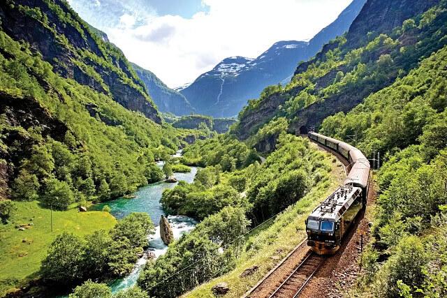 Дорога Фломсбана, Норвегия