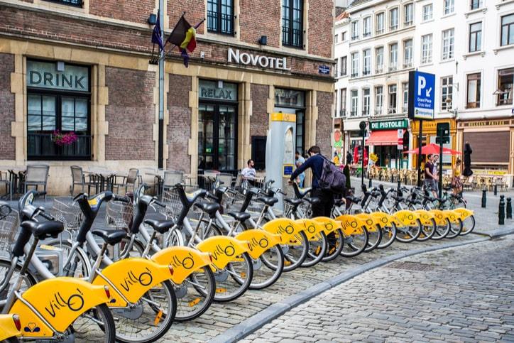 Прокат велосипедов в Брюсселе