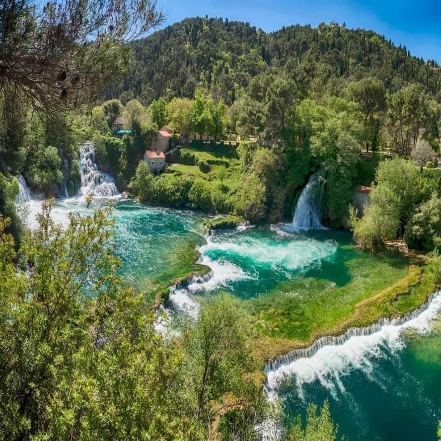 Национальный парк Крка, Хорватия.