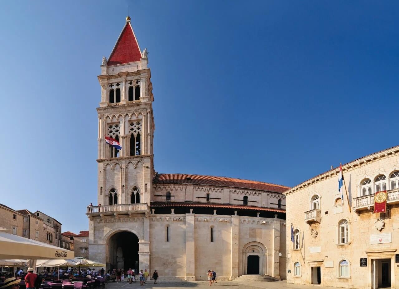 Собор Святого Лаврентия. Трогир, Хорватия.