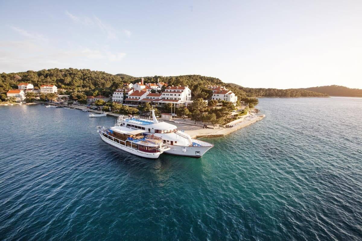 Остров Млет, Хорватия.