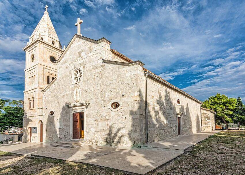 Церковь Святого Георгия, Примоштен